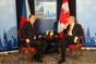 Prime Minister Petr Ne�as has met with his Canadian counterpart Stephen Harper in Chicago prior to the NATO summit, 20 May 2012