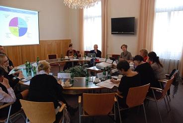 Delegace Evropského institutu pro rovnost žen a mužů - jednání u kulatého stolu