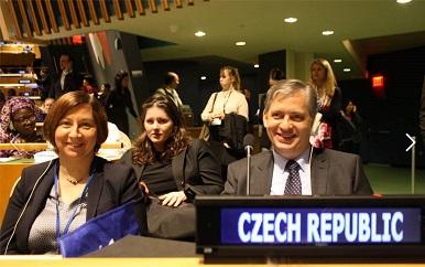 Česká delegace v New Yorku na 60. zasedání Komise OSN pro postavení žen