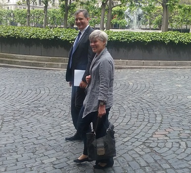Ministr Dienstbier se na jednodenní pracovní návštěvě v Londýně sešel s Kate Green