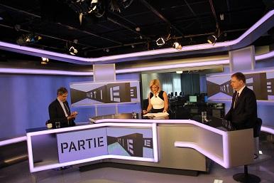 Partie (TV Prima): Hostem pořadu ministr Jiří Dienstbier