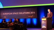 "Pavel Bělobrádek opened the International Conference ""European Space Solutions 2014"" on 11 June 2014."