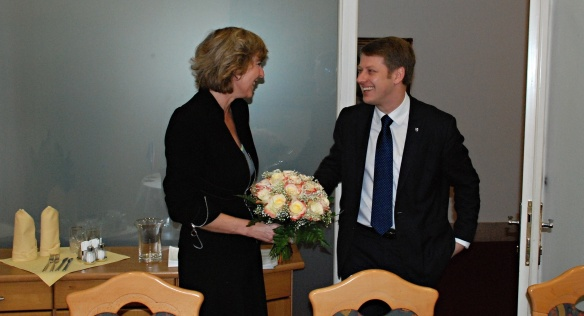 State Secretary Prouza met on 26th February 2014 with the Eurocommissioner Connie Hedegaard.