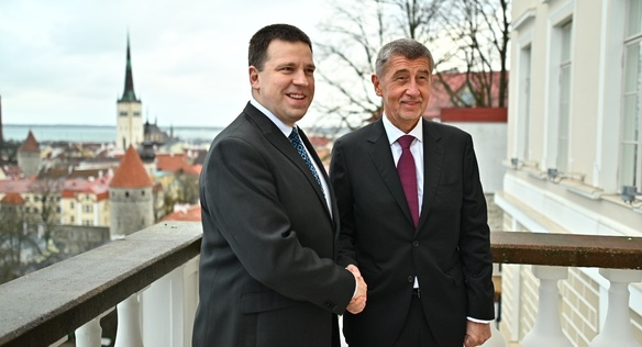 Prime Minister Babiš Discusses Cooperation on Cyber Security and Digitisation in Estonia, 18 February 2020.