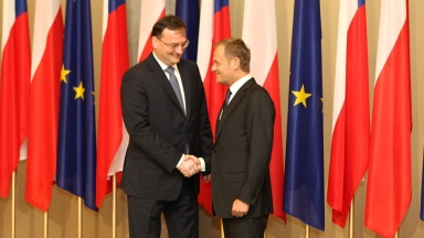On 13th May 2013, Prime Minister Petr Nečas visited Warsaw at the invitation of Polish Prime Minister Donald Tusk.
