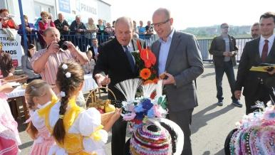 19. září 2015: Návštěva Šitbořic v Jihomoravském kraji.