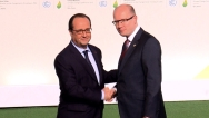 The Prime Minister attended the climate summit COP 21 in Paris, 30th November 2015.