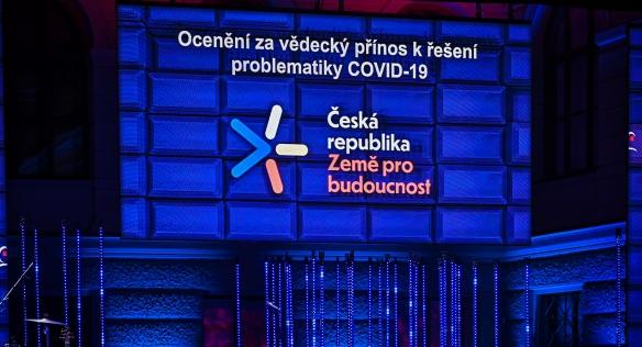 Národní cenu vlády Česká hlava získal imunolog Václav Hořejší, 29. listopadu 2020.
