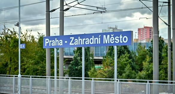 Předseda vlády otevřel novou železniční stanici, 24. září 2021.