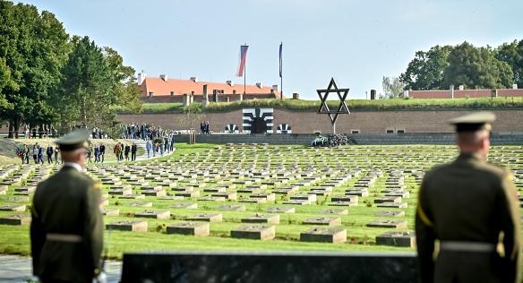 Terezínská tryzna k uctění obětí nacistické perzekuce, 5. září 2021.