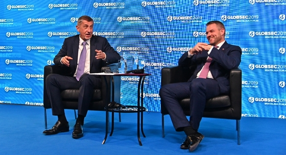 Prime Minister Babiš attended the Globsec Forum in Bratislava, 8 June 2019.