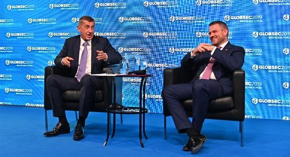 Premiér Babiš se zúčastnil fóra Globsec v Bratislavě