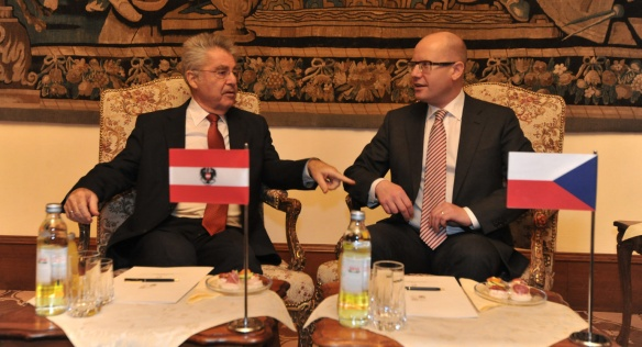 On Thursday, 11 December 2014, Prime Minister Bohuslav Sobotka met the President of Austria, Heinz Fischer.