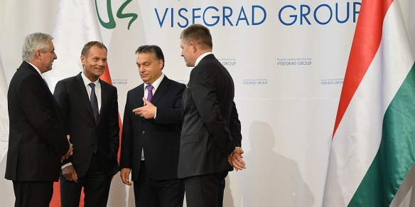 On Monday 14th October 2013 Prime Minister Jiří Rusnok took part in a summit of the Visegrad group in Budapest.