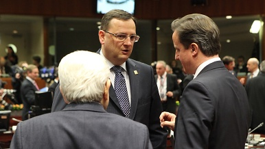 Before the summit of EU Heads of State or Government in Brussels, on 30 January 2012