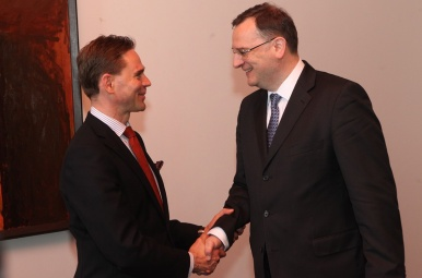 On Thursday 19th April 2013, Prime Minister Nečas visited Finland.