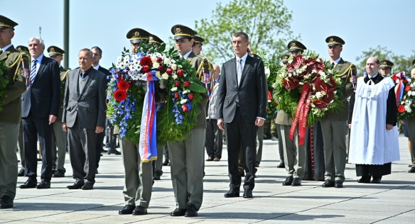 On the occasion of the National Victory Day on 8 May 2019, a commemorative ceremony was held at the National Memorial in Vítkov.