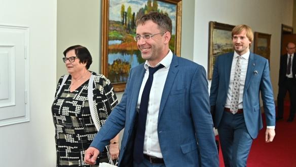 Ve Strakově akademii se 22. července 2019 uskutečnilo jednání vlády.
