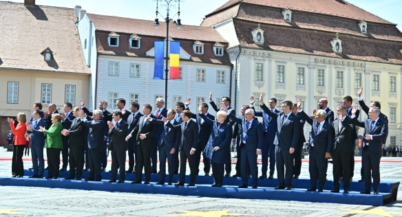 Extraordinary European Council on the EU Strategic Agenda in Sibiu, 9 May 2019.