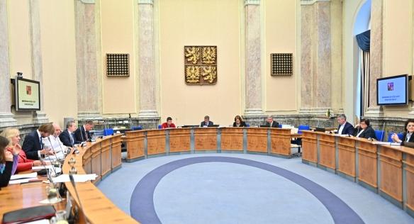 Ve Strakově akademii se v neděli 15. března konalo mimořádné zasedání vlády.