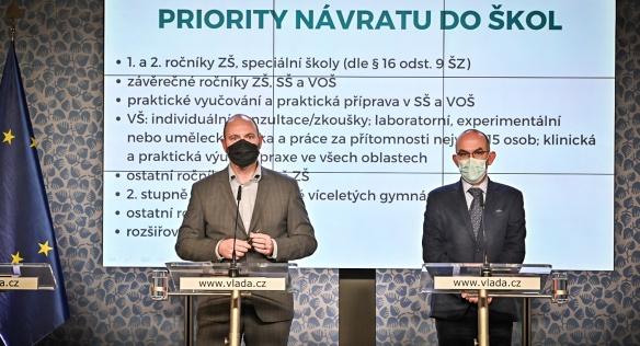 Tisková konference po mimořádném jednání vlády, 30. října 2020