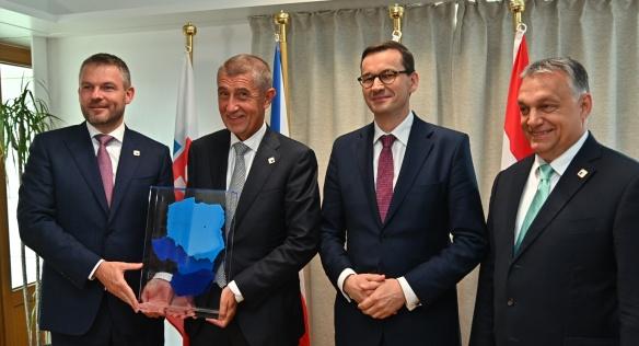 Česká republika přebrala 20. června 2019 v Bruselu předsednictví V4 od Slovenska.