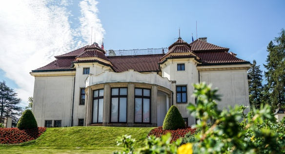 O víkendu si veřejnost bude moci prohlédnout Kramářovu vilu, rezidenci předsedy vlády, 2. července 2020.