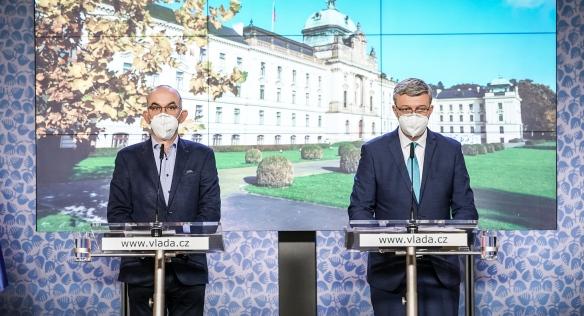 Tisková konference po jednání vlády, 16. listopadu 2020