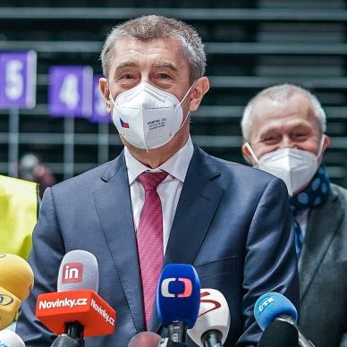 Národní očkovací centrum v pražském O2 universum zahájilo zkušební provoz
