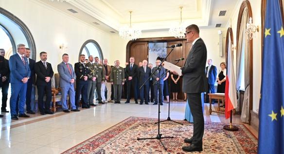 Premiér Andrej Babiš předal 22. července 2020 Ceny Bezpečnostní rady státu pro rok 2020.