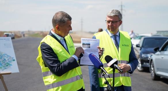 Premiér Andrej Babiš navštívil 24. července 2020 Středočeský kraj.