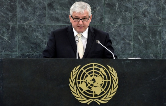 Speech by Prime Minister Jiří Rusnok on the General Debate of the 68th Session of the General Assembly, New York, August 27th 2013.