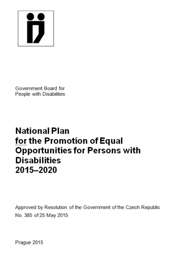 National plan for the promotion of equal opportunities for persons with disabilities 2015-2020